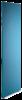 Endegavl for enkeltsøjle reol 2100×400 laminat