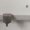 Billedekrog til ophæng på bæreskinne i rustfri stål