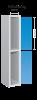 Ultrabox plasticskab med 2 Låger
