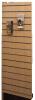 Endepanel i spalte træfinerpanel (Bøgfiner) for dobbeltsøjle reol 1200×300
