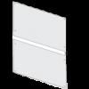 Ikon bagbeklædningen 1000 x 1830 mm