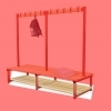 BASE SHELF SLATS. Suit SINGLE SIDED  bench.  LENGTH = 1000mm