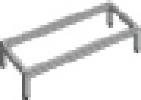 Sokkelfod til omklædningsskabe 305×305